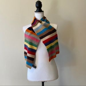 GAP Vintage Crazy Stripe Scarf 1999.